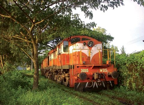 Railways - diesel locomotive